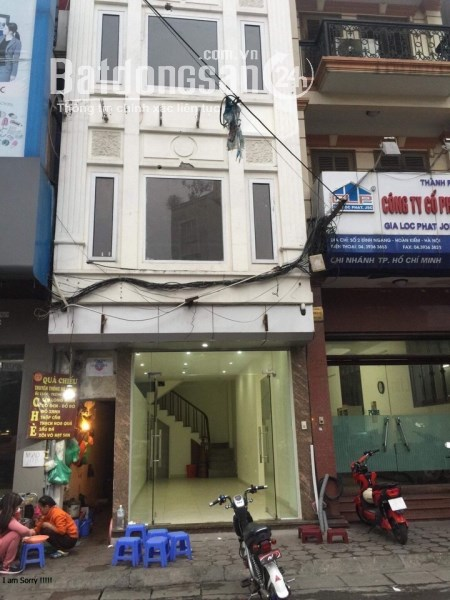 Chính chủ cho thuê nhà số 4 mặt phố Đình Ngang, Hoàn Kiếm, 45m*4,5T