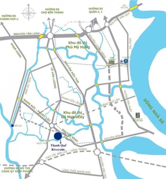 Bán nhà biệt thự liền kề Khu đô thị GS Metrocity, Nguyễn Hữu Thọ, Phước Kiểng