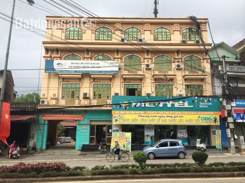 BÁN NHÀ MẶT PHỐ Đường Nguyễn Thị Minh Khai, P. Nguyễn Thị Minh Khai, TP. Bắc Cạn