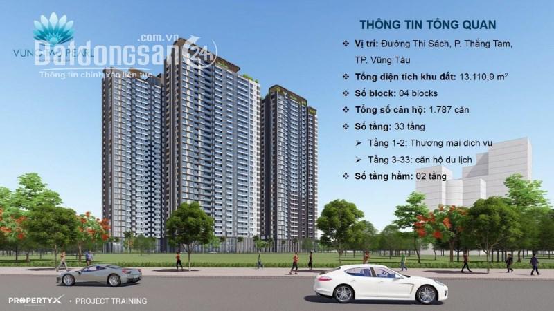 Bán căn hộ chung cư  Vũng Tàu Pearl, Đường Thi Sách, Tp Vũng Tàu, giá 38tr/m2.