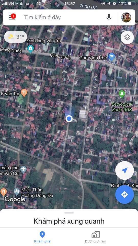 Mua đất riêng, Đất ở các loại Đường An Đồng, Thị trấn An Dương, Huyện An Dương