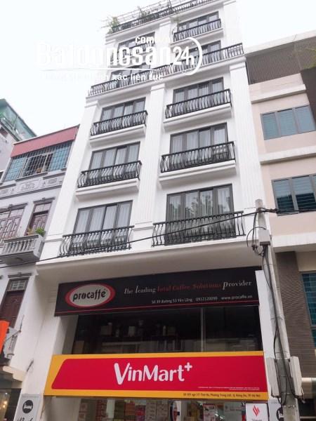cho thuê nhà mặt phố Hoàng Hoa Thám 80m x 7T, thang máy, thông sàn