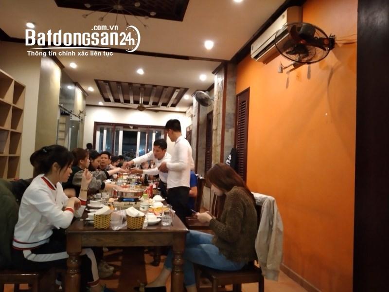 Sang nhượng nhà hàng tại mặt đường Trần Thủ Độ, Hoàng Mai, thành phố Hà Nội.