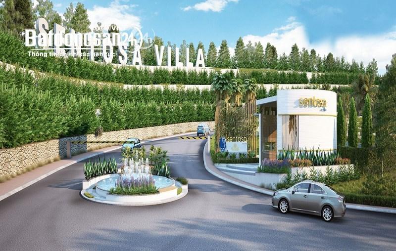 Bán 1 lô đất biệt thự đẹp nhất dự án Sentosa Villa Mũi né