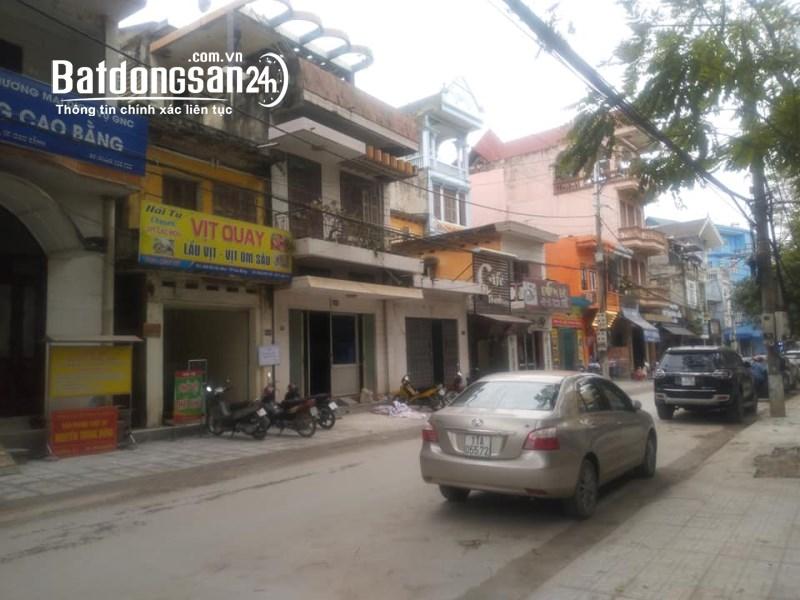 Bán nhà mặt phố Đường Bế Văn Đàn, TP - Cao Bằng