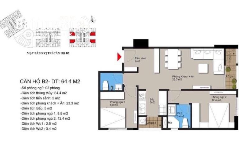 Mua căn hộ chung cư Hateco Apollo Xuân Phương, Đường 70, Quận Nam Từ Liêm