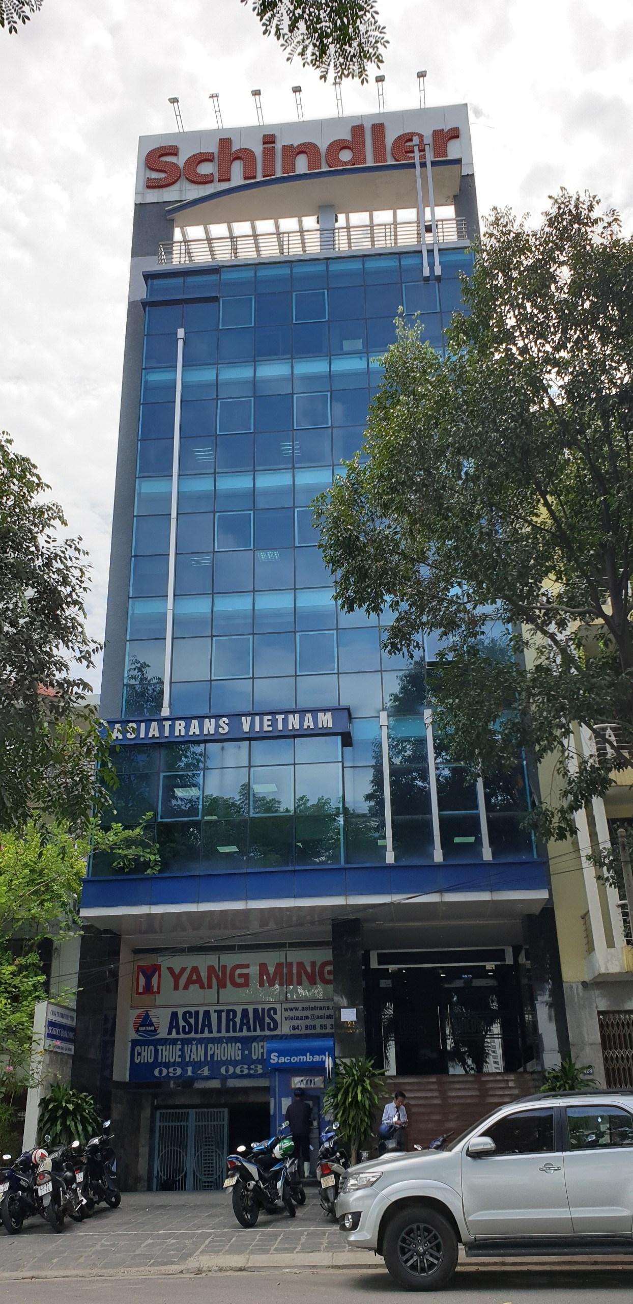 Cho thuê văn phòng đường Trần Hưng Đạo, diện tích 74m2