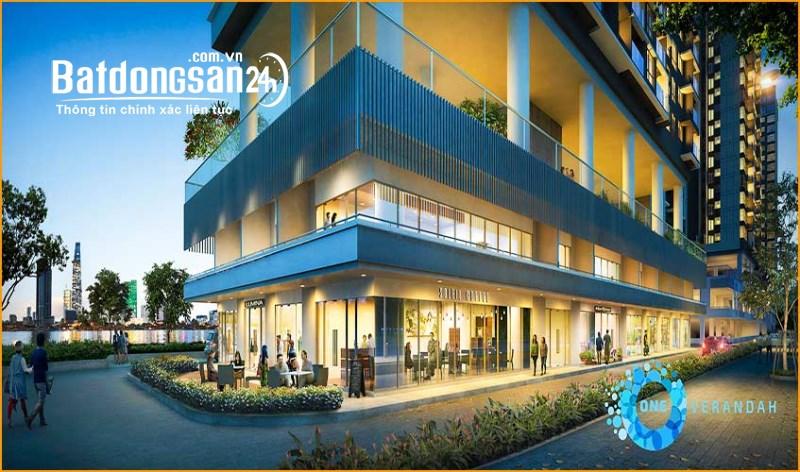 Bán Căn shophouse 190m2, 2 lầu One Verandah Mapletree, Đường Bát Nàn, Quận 2