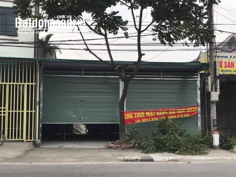 Cho thuê nhà mặt phố 8x20m Đường Nguyễn công trứ, Xã Ninh Phúc, TP -  Ninh Bình