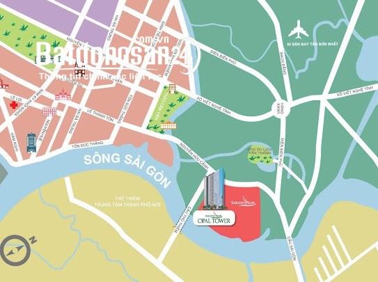 Cần mua căn hộ Opal Tower Saigon Pearl cạnh Vinhomes Central Park
