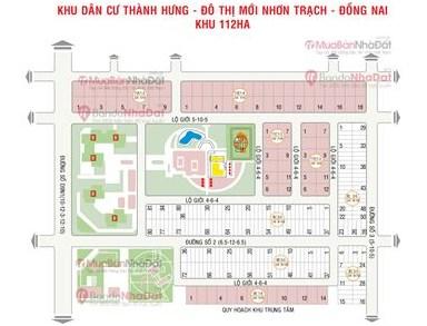 Mua đất nền dự án Khu đô thị mới Phước An, Xã Phước An, Huyện Nhơn Trạch