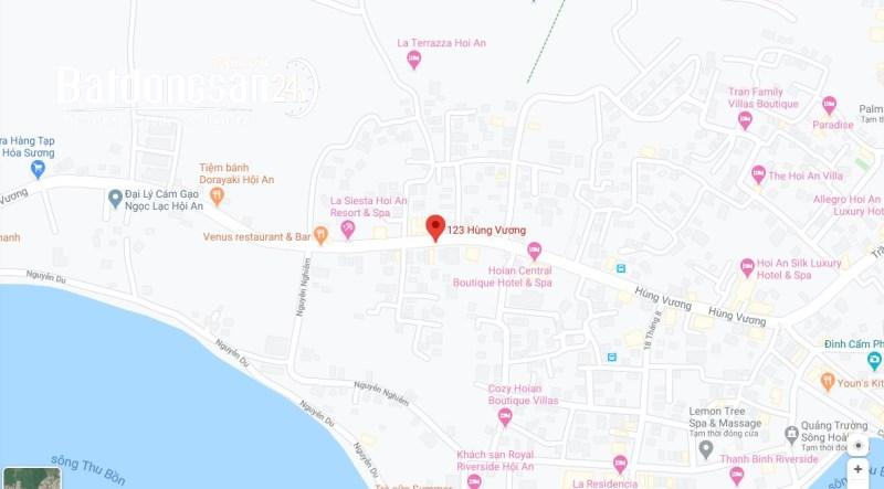 Cho thuê nhà tiện mở văn phòng kinh doanh tại Hùng Vương, Hội An