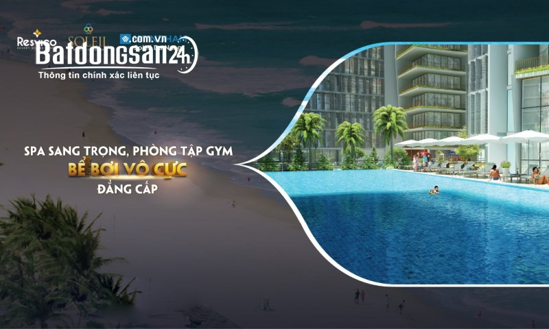 SOLEIL ÁNH DƯƠNG ĐÀ NẴNG căn hộ view biển cao cấp - LH Huệ 0973.717.868