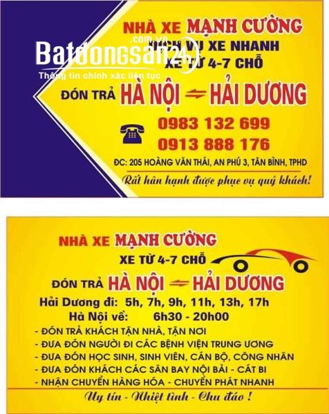 Ô tô Phường Tân Bình, TP - Hải Dương