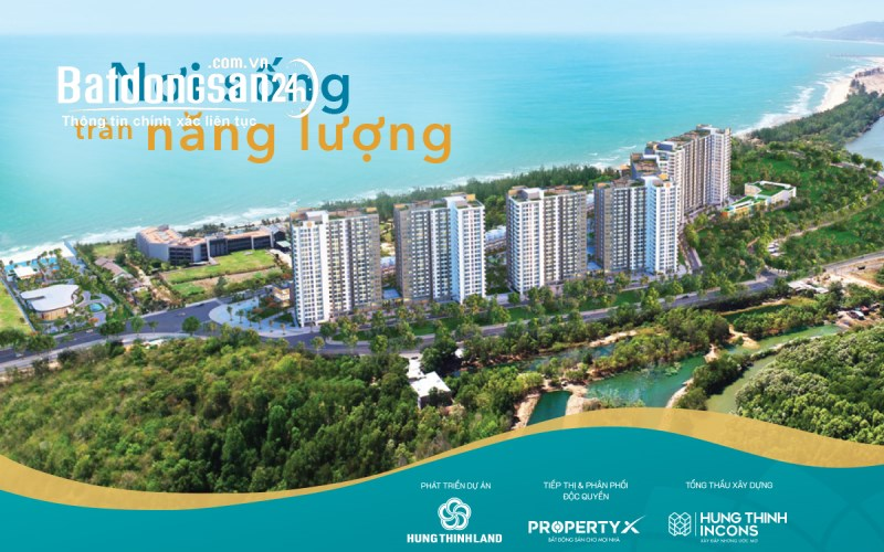 Hồ Tràm Complex Hưng Thịnh - Căn góc view Biển 2PN 70m2 - Chỉ 1.96 tỷ