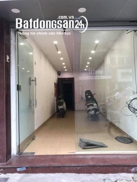 Chính chủ cần cho thuê tầng 1 nhà mặt phố 117 Khâm Thiên, Thổ Quan,