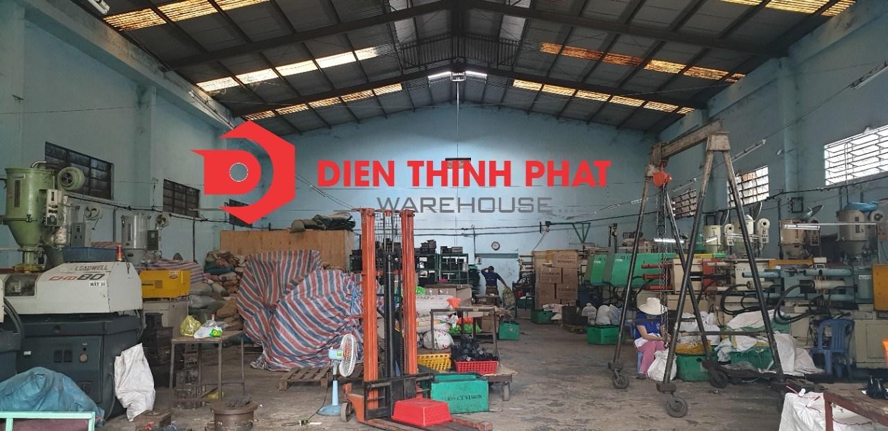 nhà xưởng 20x40 giá 58tr đường Ao Đôi quận Bình Tân