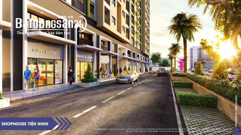 Suất nội bộ Shophouse New Galaxy Hưng Thịnh, 37tr/m2, chiết khấu 5 - 18%