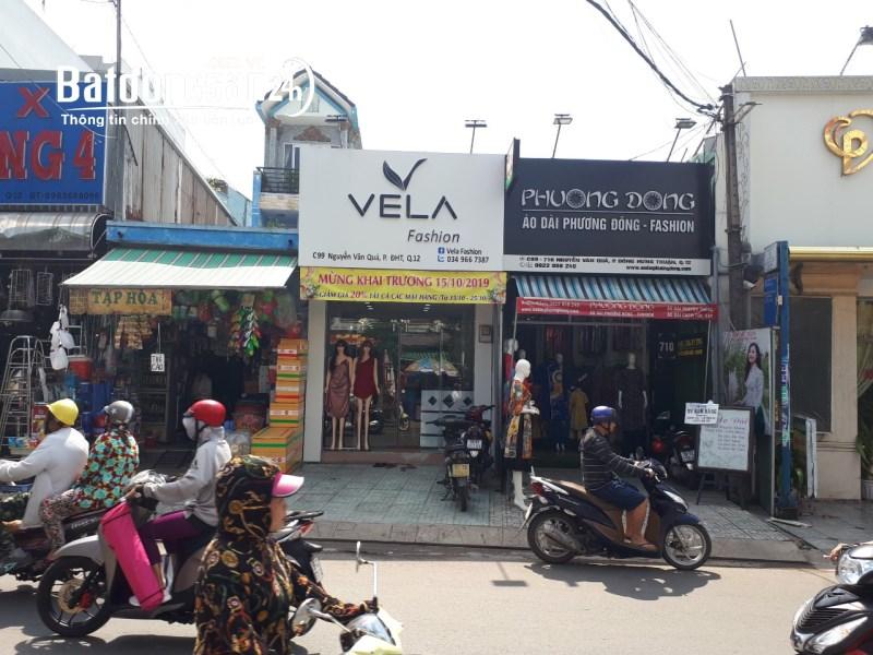 Sang gấp mặt bằng shop tại Nguyễn Văn Quá, Q12