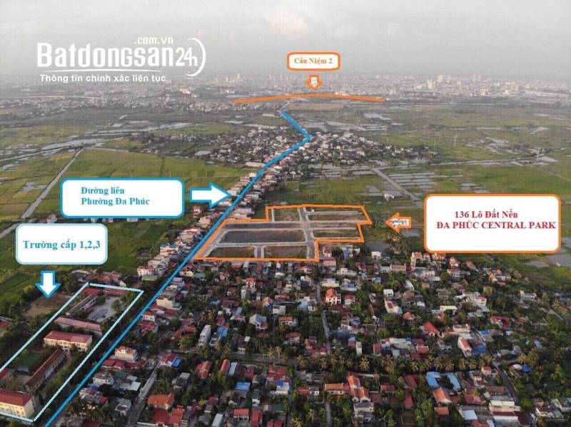 Bán đất nền phân lô Quận Dương Kinh giá chỉ 11tr/m2