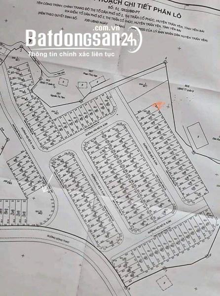Bán đất Thị trấn Cổ Phúc, Huyện Trấn Yên