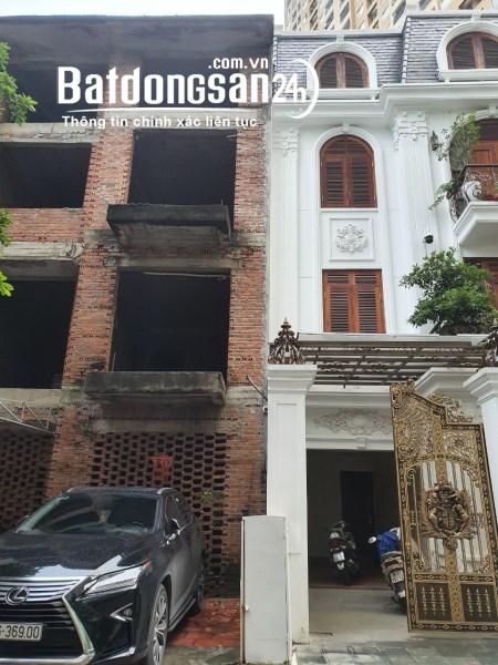 Bán biệt thự liền kề KĐT Xala Hà Đông, gần đại lộ Chu Văn An, 156,5m x4T xây thô