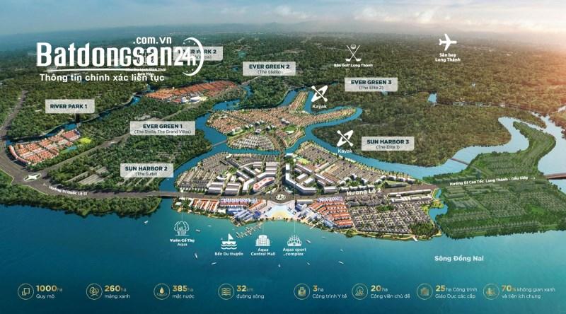 Bán Bất động sản khác Aqua City, Đường Hương Lộ 2, TP Biên Hòa