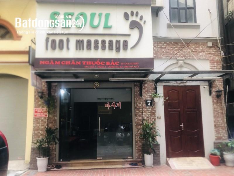 Chính chủ cho thuê nhà đẹp, 5T, số 7 ngõ 8 phố Láng Hạ, Ba Đình