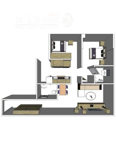 Chính chủ bán căn hộ 2 phòng  ngủ tại kiến Hưng – Hà Đông .Lh : 0975342826