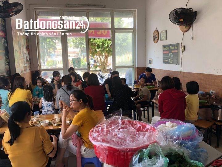 Sang nhượng cửa hàng bún đậu mắm tôm tại KĐT Thanh Hà, Hà Đông, HN