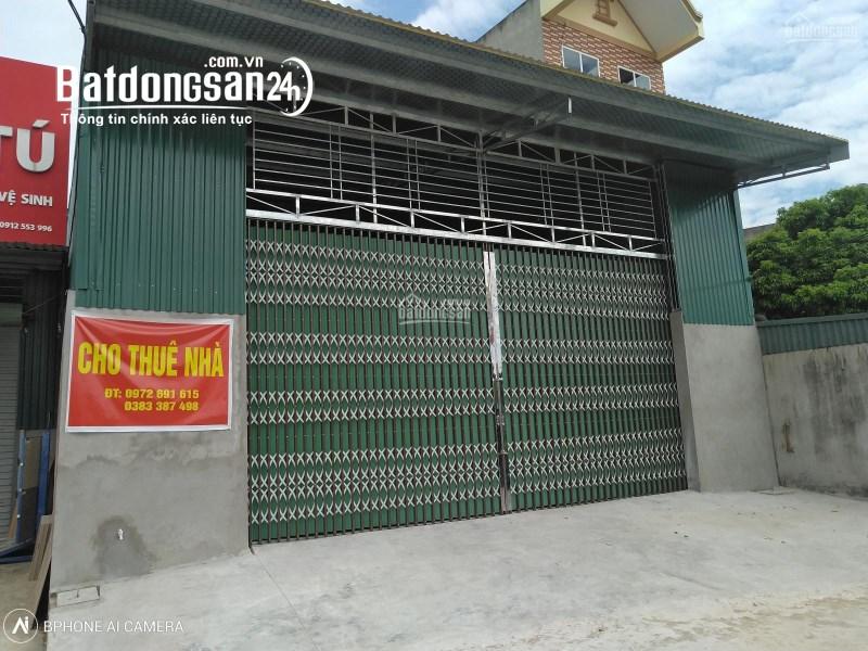 Chính chủ cần cho thuê nhà tại đường Châu Xuyên, Xã Tân Tiến, Bắc