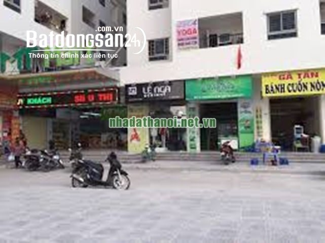 Chính chủ bán kiot kinh doanh khu VP6 bán đảo Linh Đàm, quận Hoàng Mai