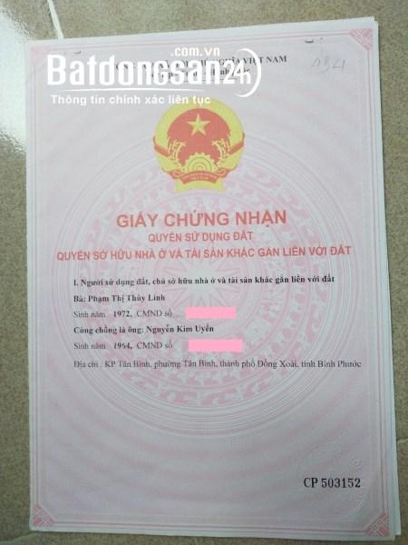 Bán đất Đường 322, Xã Tân Phước, Huyện Đồng Phú, BÌNH PHƯỚC