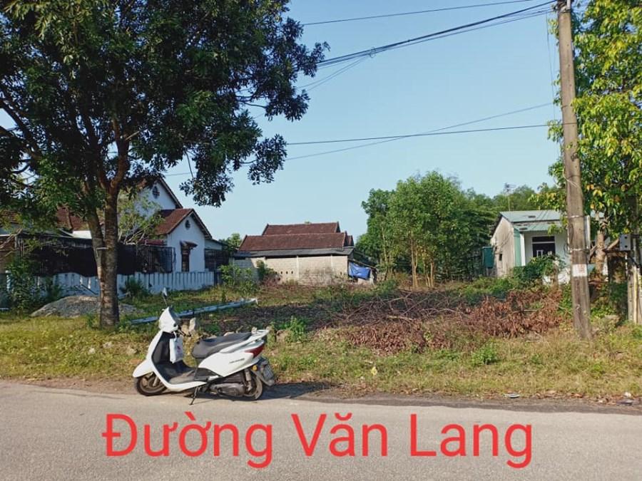 Cho thuê MẶT BẰNG đường Văn Lang, huyện Phong Điền, tỉnh Thừa Thiên Huế.