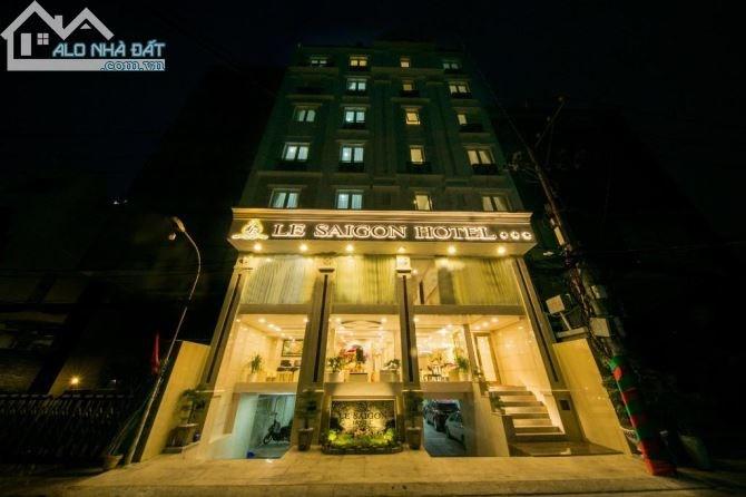 Cho thuê KS MT Trương Định, Q1,10 lầu, 45 phòng, DT: 6x20m, 680 Tr/th
