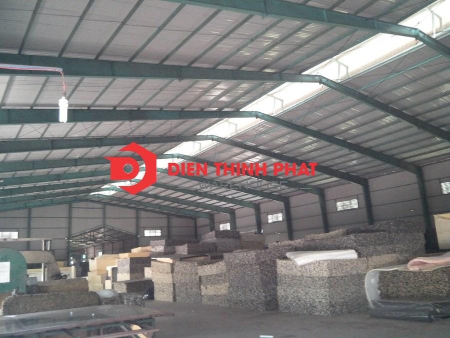 Cho thuê kho xưởng dường Nguyễn Cửu phú 1200m giá 75tr LH 0938.024.238