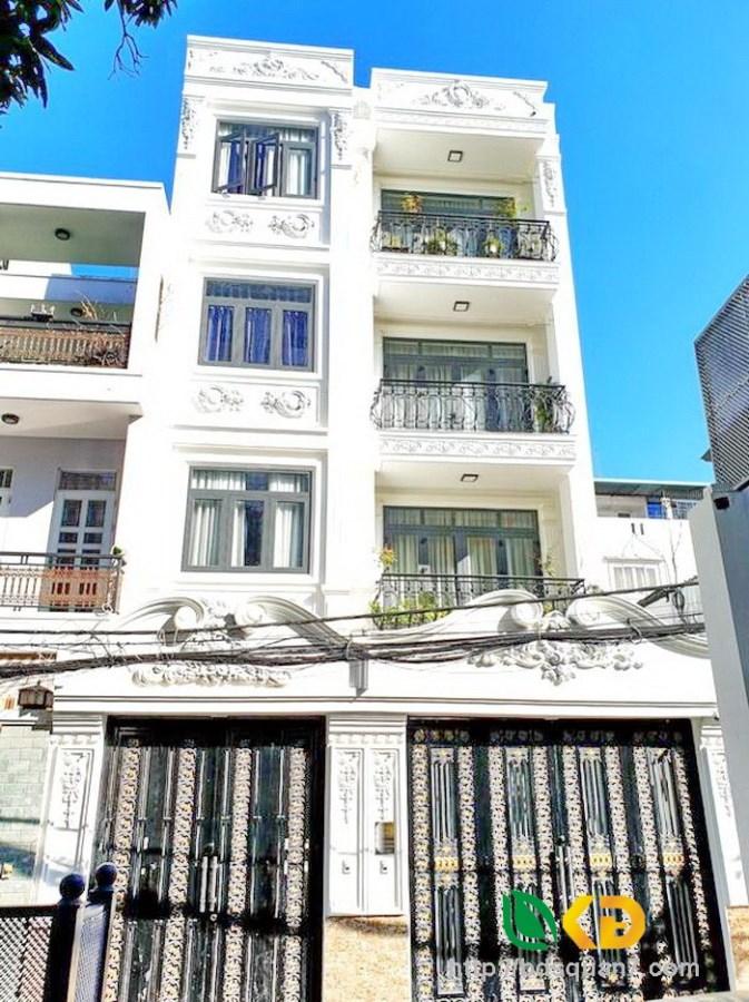 Cho thuê  KS MT Lý Chính Thắng, P1,Q3, 4.5X26m, Trệt 4 Lầu, 18 phòng, 105 tr/th