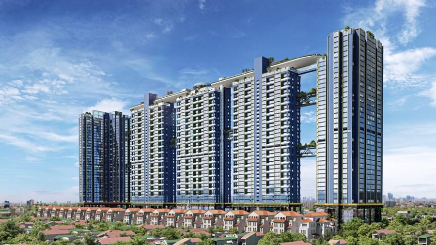 Duplex sky-suite Sunshine Crystal River: 6.4 tỷ/2PN 108.7m2, HTLS 0%, KM 70tr
