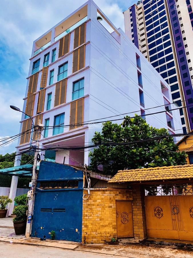 Nhà Cho Thuê 7 tầng 18 Phòng MT Lý Chính Thắng, Q3, giá 55 triệu/Tháng.