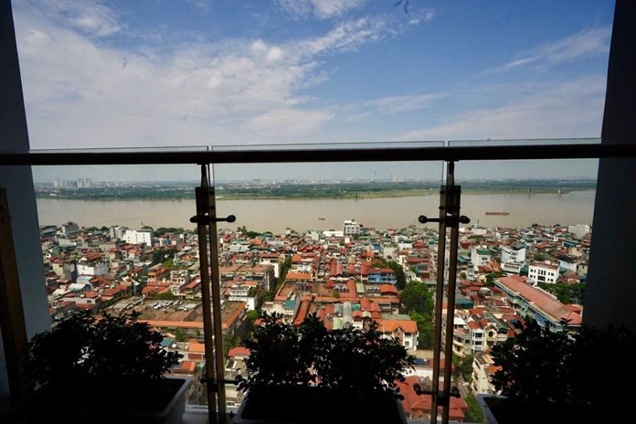 Gia đình cần bán căn 3 ngủ Sun Lương Yên, view sông Hồng, 6.5 tỷ bao phí