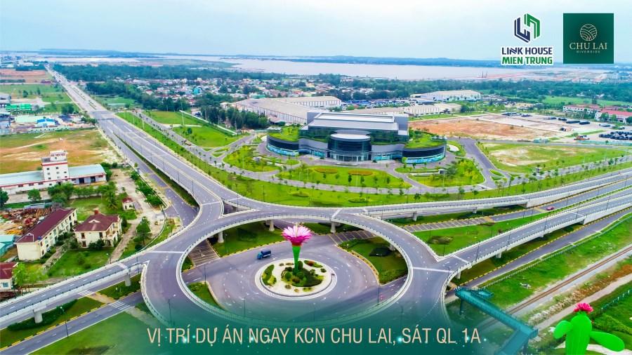 Chủ tịch giả làm nông dân đi mua đất nền Chu Lai Riverside và cái kêt.