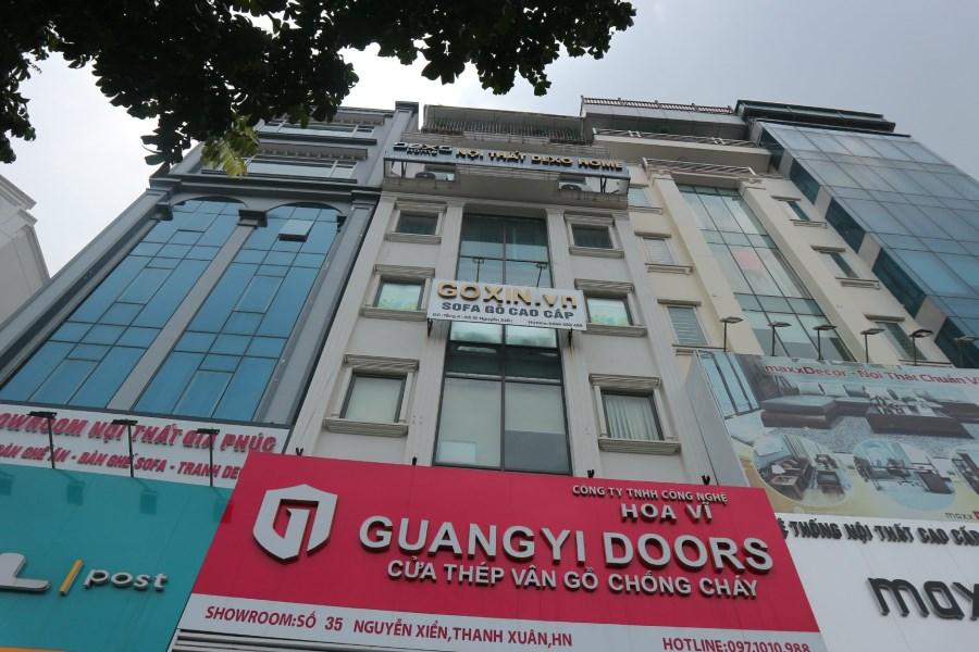 Cho thuê văn phòng chuyên nghiệp đầy đủ tiện ích tại Ngụy Như Kon Tum 120m2