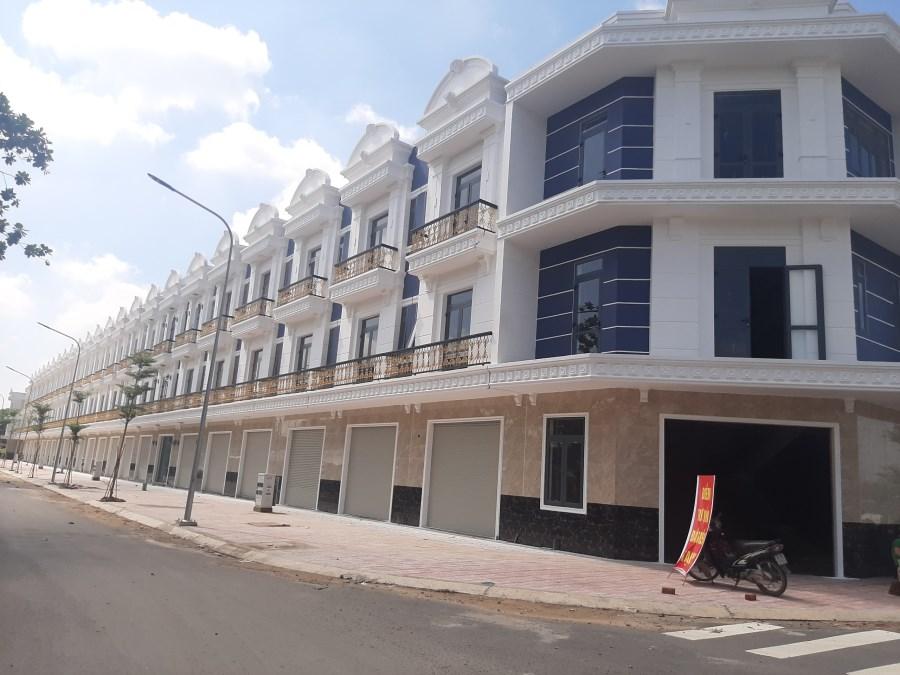 Shophouse 1 trệt 2 lầu kinh doanh ngay mt An Phú 18, P. An Phú, Tp.Thuận An, BD