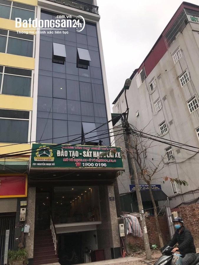 chính chủ cho thuê văn phòng mặt phố Nguyễn Ngọc Vũ - Cầu Giấy - Hà Nội