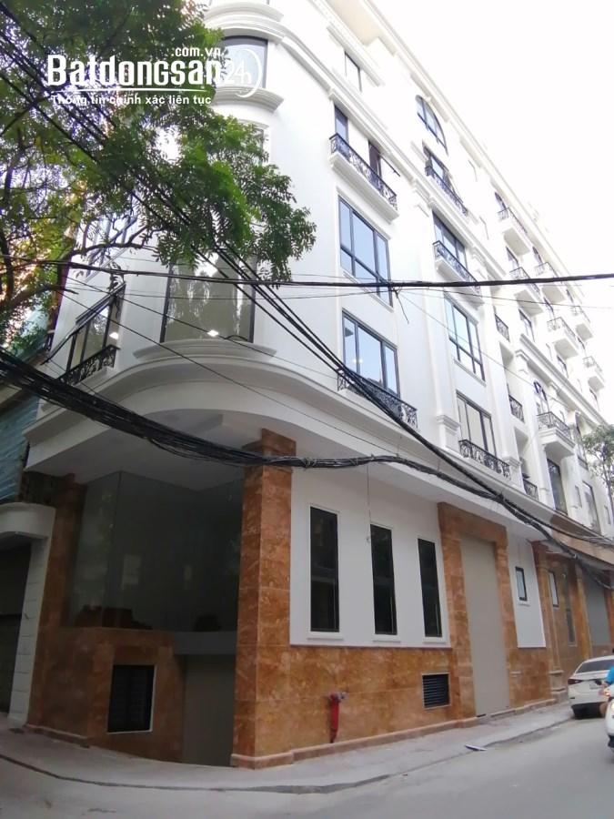Cho thuê tòa nhà 9 tầng mp Nguyễn Khang lô góc. dt 110m2. GIÁ 130triệu/tháng