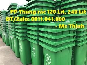 Chuyên cung cấp thùng rác nhựa 120lit 240lit gọi 0911.041.000