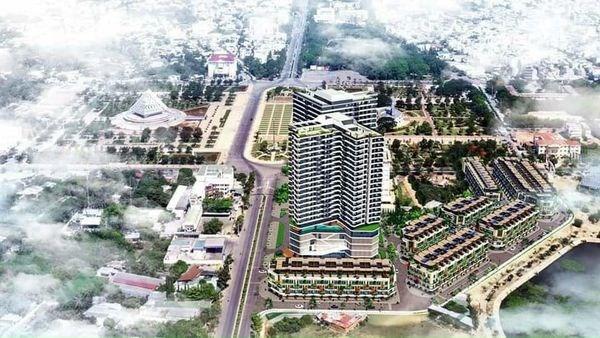 Shophouse dự án Hacom Mall trung tâm thành phố Phan Rang
