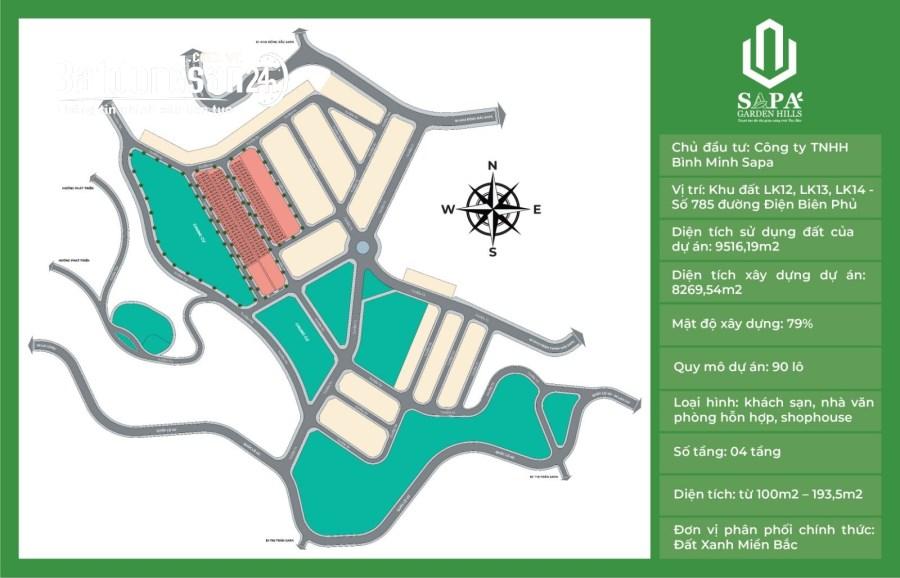SaPa Garden hill đất nghỉ dưỡng lý tưởng tại SAPA