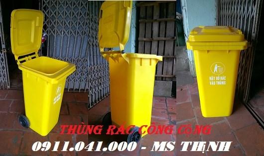 Kinh doanh các loại thùng rác nhựa gọi 0911.041.000