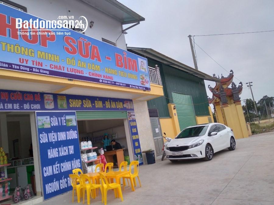 Cho thuê mặt  bàng  kinh  doanh   Xã Hương Gián, Huyện Yên Dũng